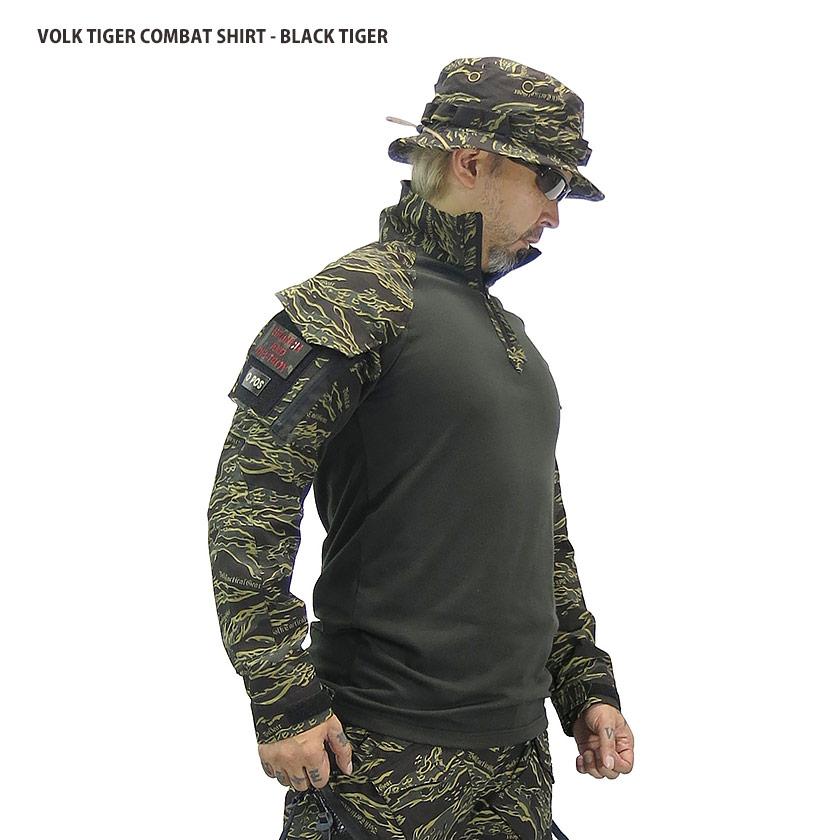 TIGER COMBAT SHIRT / BLACKTIGER