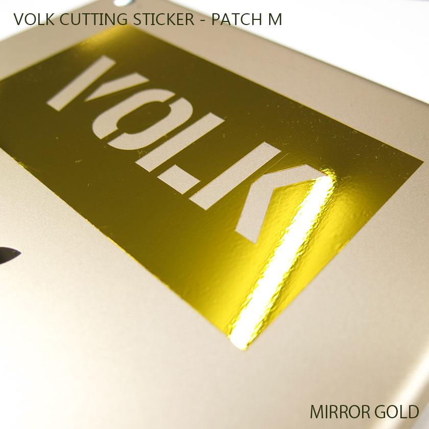 VOLK CUTTING STICKER - PATCH M