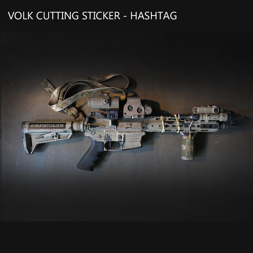 VOLK CUTTING STICKER - HASHTAG