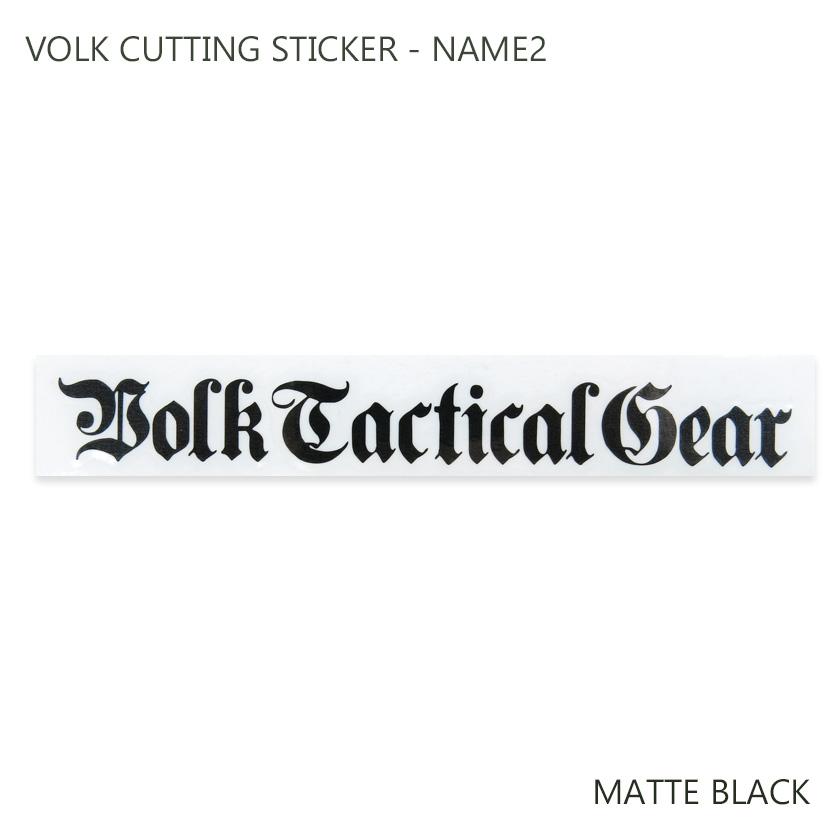 VOLK CUTTING STICKER - NAME2