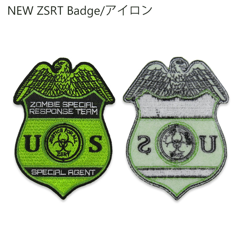 NEW ZSRT Badge/アイロン