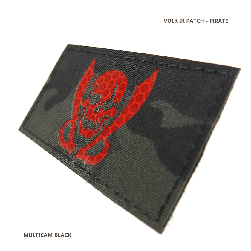 IR PATCH / PIRATE / MC BLACK