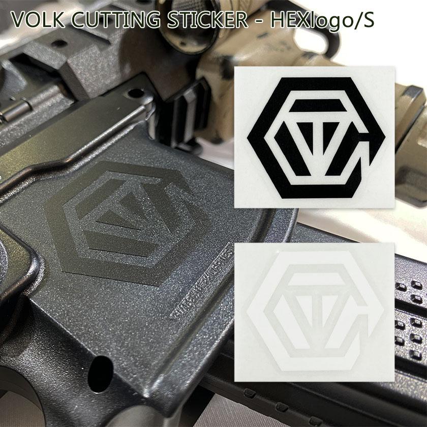 VOLK CUTTING STICKER - HEXlogo/S