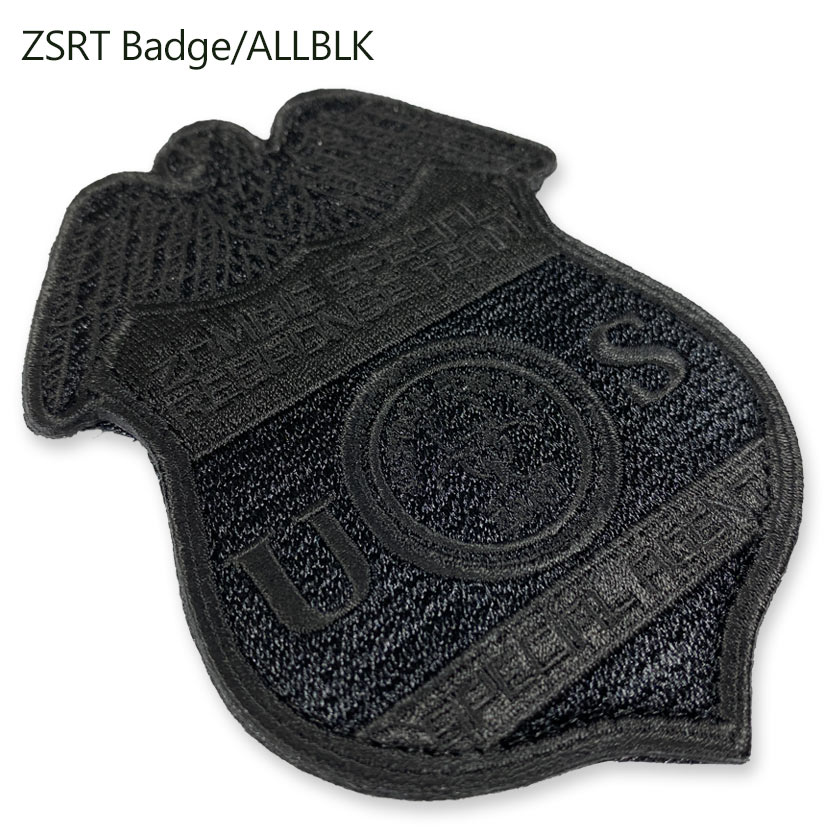 ZSRT Badge/ALLBLK