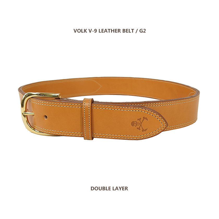 V-9 LEATHER BELT G2