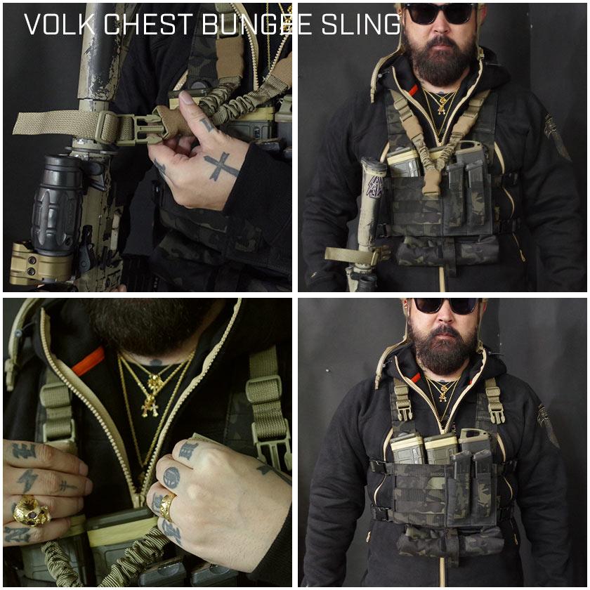 VOLK CHEST BUNGEE SLING