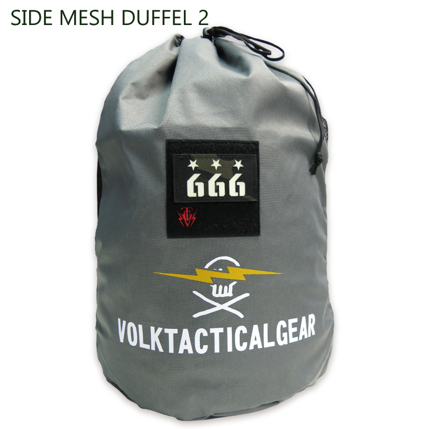 SIDE MESH DUFFEL 2