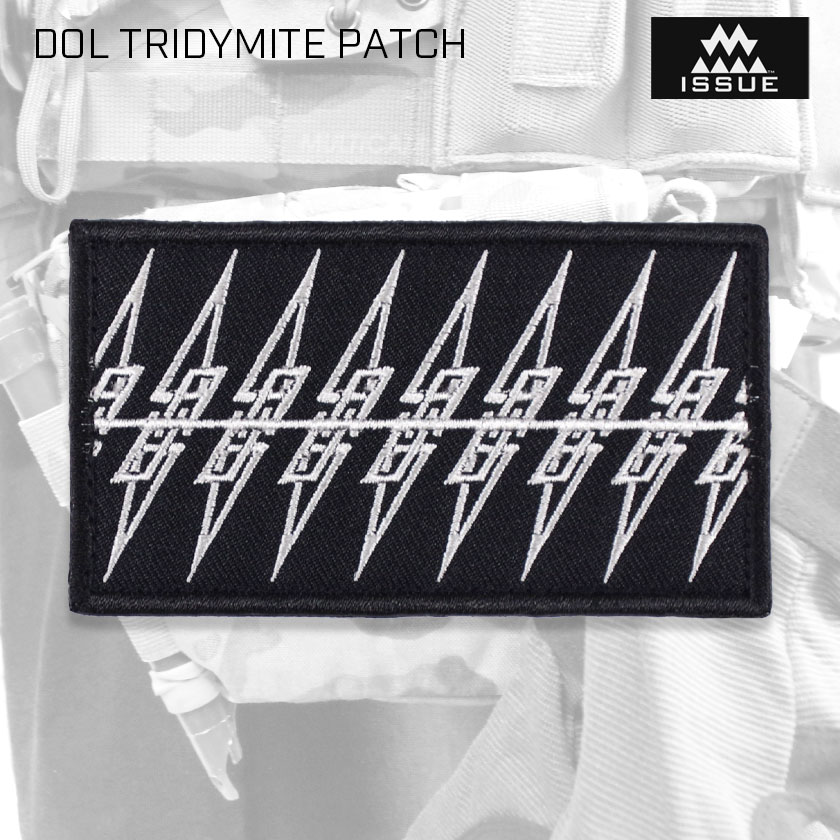 DOL TRIDYMITE PATCH トリジマイト パッチ