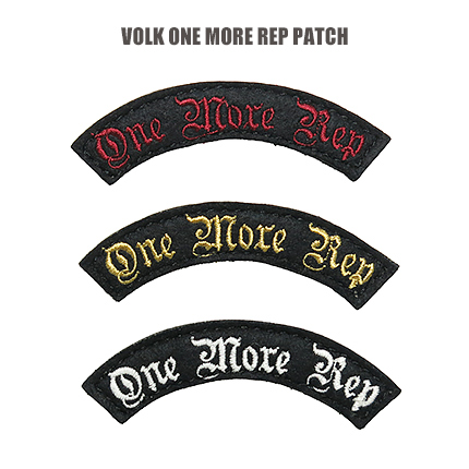 VOLK FELT PATCH / ONE MORE REP