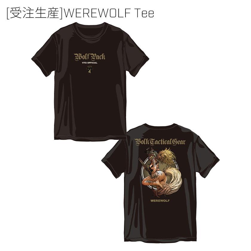 [受注生産]WEREWOLF Tee