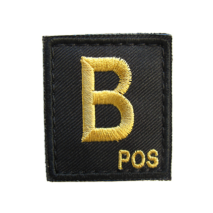 VOLK BLOOD-TYPE PATCH (L) / GOLD