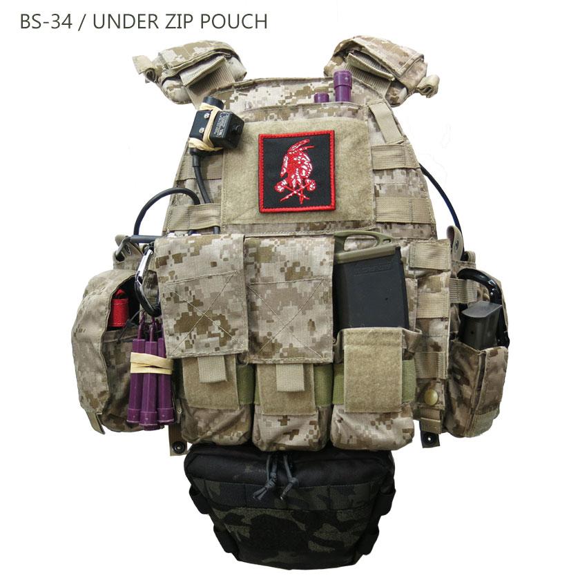 BS-34 / UNDER ZIP POUCH
