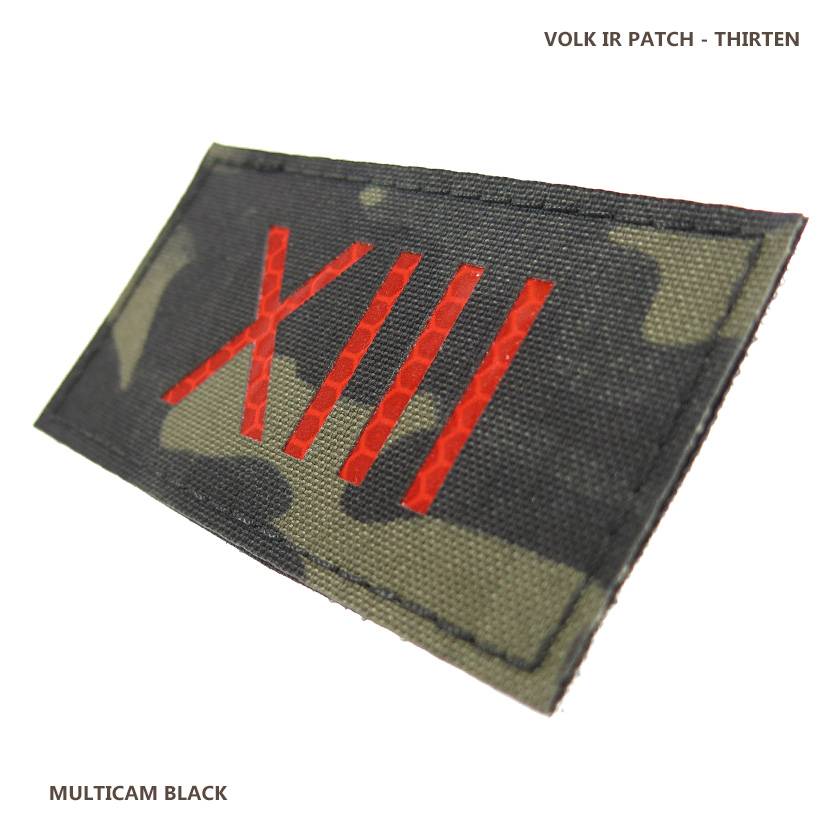IR PATCH / THIRTEEN / MC BLACK
