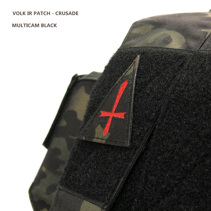 IR PATCH / CRUSADE / MC BLACK