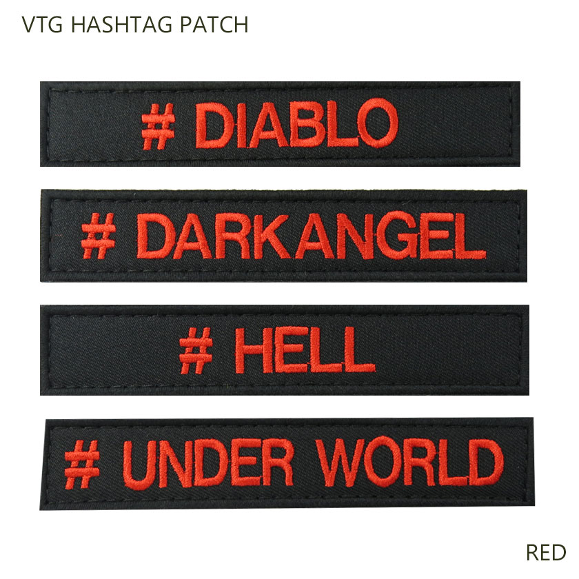 VTG HASHTAG PATCH