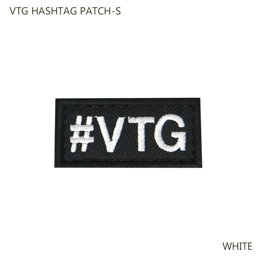 VTG HASHTAG PATCH-S
