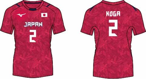 【古賀紗理那選手】2021火の鳥NIPPON レプリカシャツ