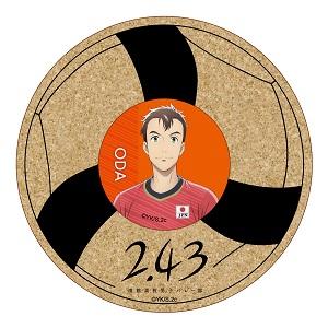 2.43 清陰高校男子バレー部  日本代表コラボ コースターセット