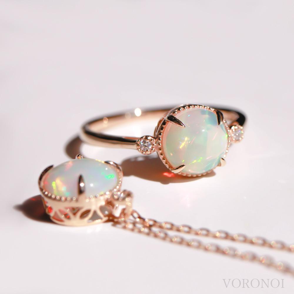 MINAMO - Opal - リング K18