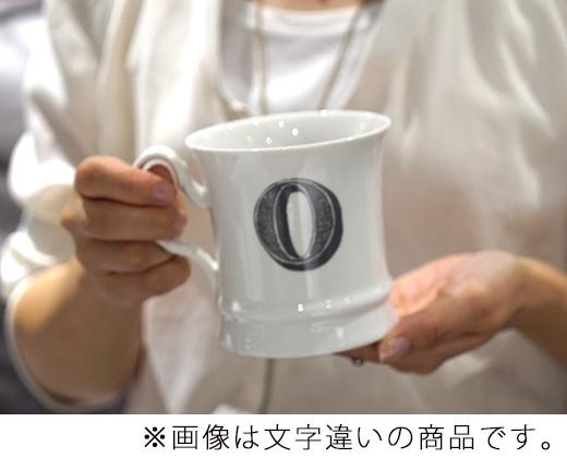 コーヒーカップ イニシャル入り V