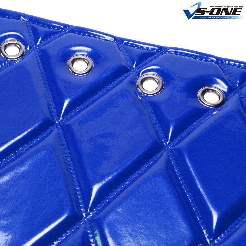 ダッシュマット + ハンドルカバー LM NEW エルフ ワイドキャブ(ダブルキャブ含む) エナメル ブルー 内装ドレスアップセット 送料無料