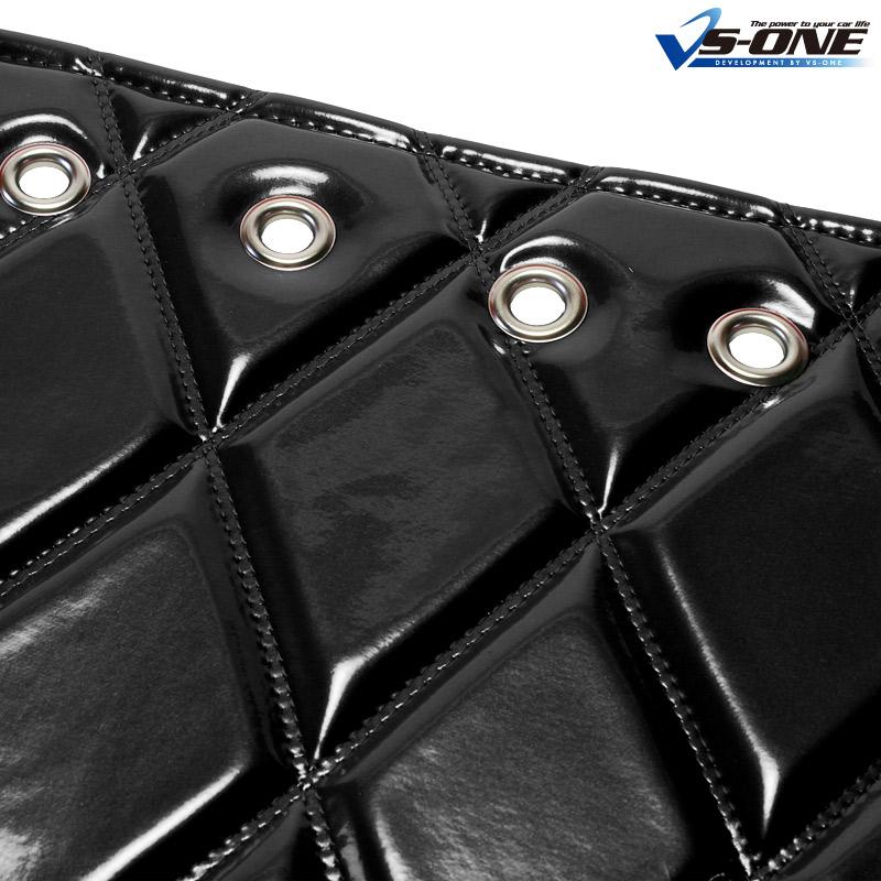 ダッシュマット + ハンドルカバー LM NEW エルフ 標準キャブ(ダブルキャブ・1tクラス含む) エナメル ブラック 内装ドレスアップセット 送料無料