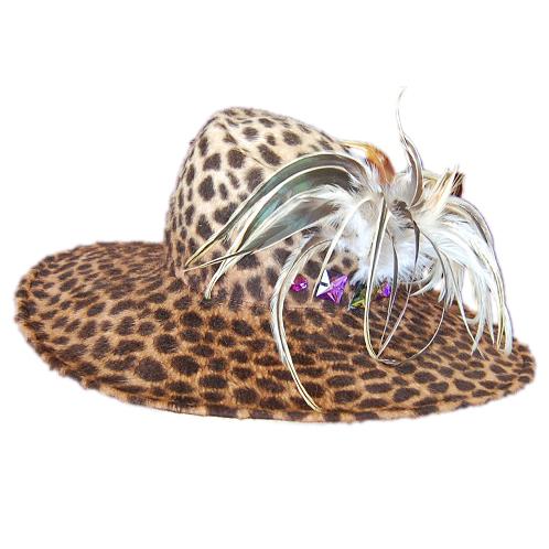 つば広帽子 - Leopard Queen