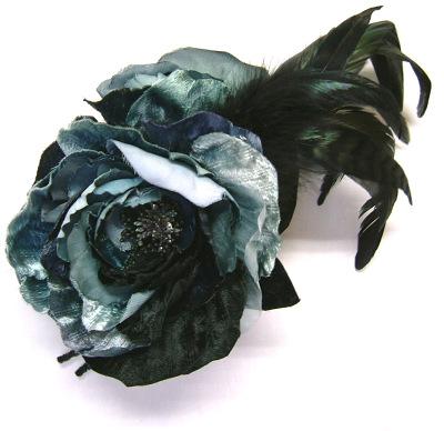 コサージュ - Fairy Flower / Lite blue & Black