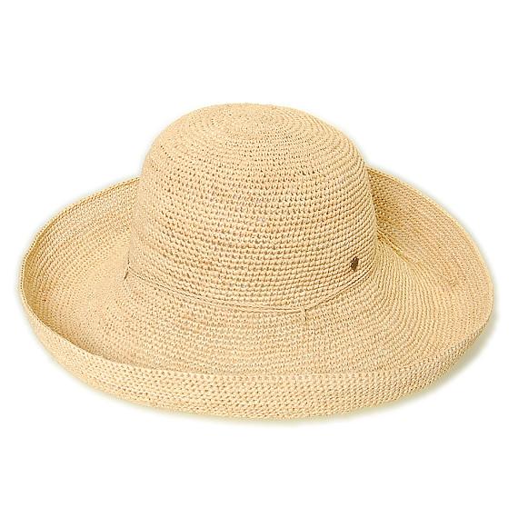 つば広帽子 - ずっと一緒 / Beige