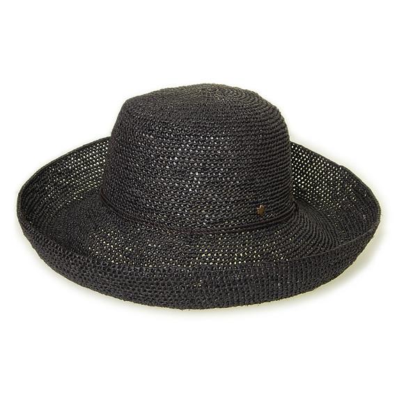 つば広帽子 - ずっと一緒 / Black