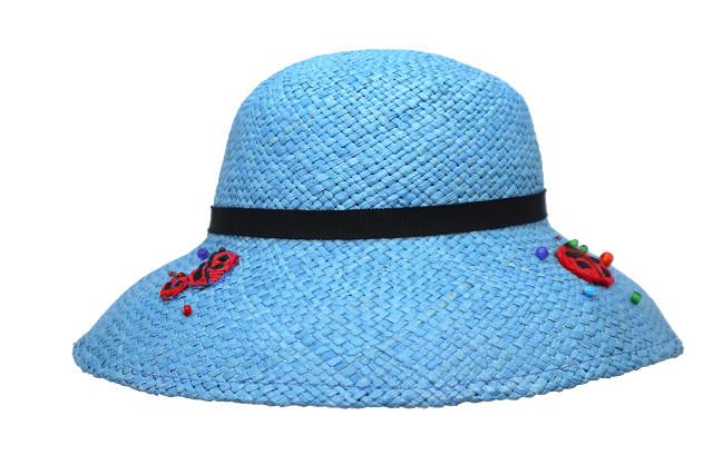 つば広帽子-テントウムシノサンバ
