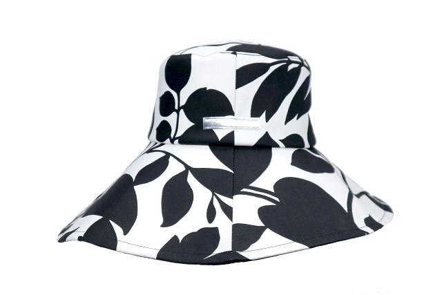 つば広帽子-Monochrome