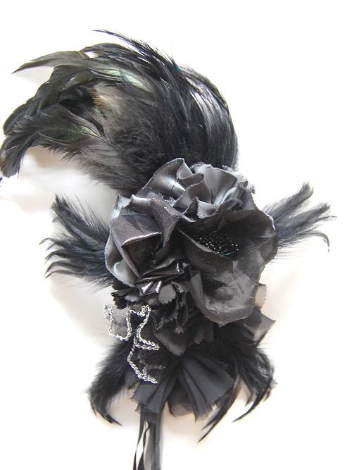 コサージュ - Black-Engel
