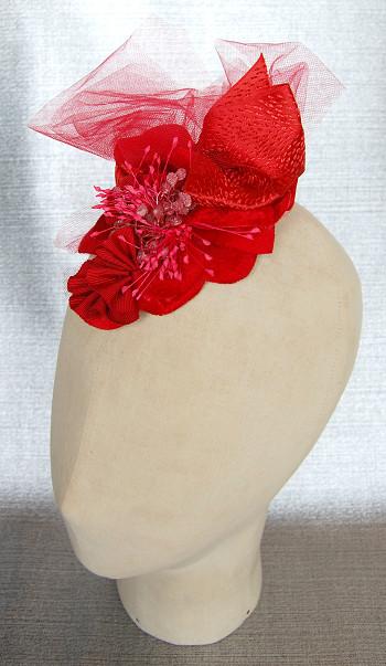 ヘッドドレス - Pure Red