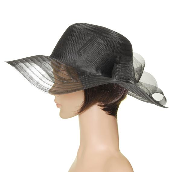 【限定】 つば広帽子 - 帽子になった風