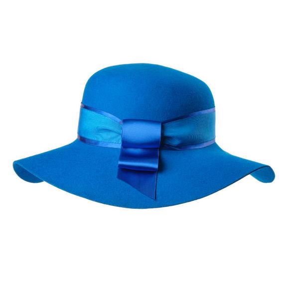つば広帽子 - Blue World