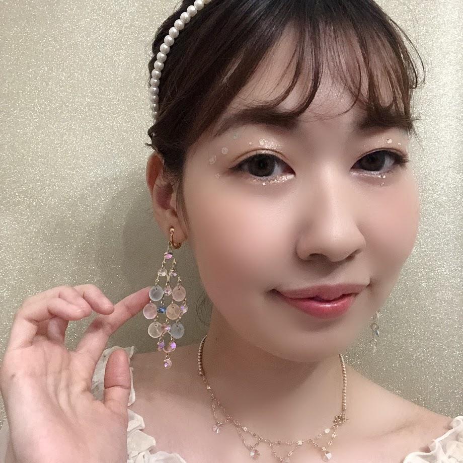 イヤリング・ピアス-人魚の歌声(オーロラ)