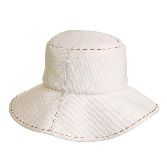 つば広帽子 - オシバナアンティーク