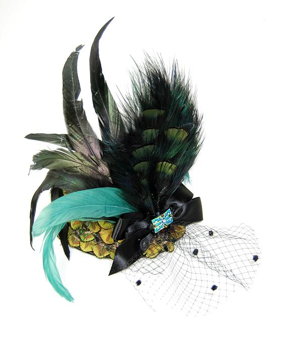 ヘッドドレス - 孔雀