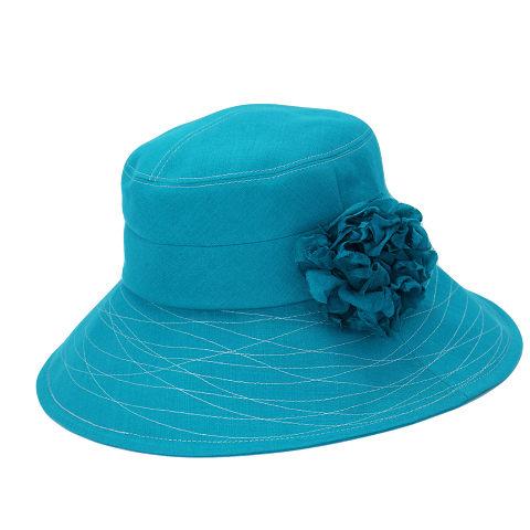 つば広帽子 - Humming of Wave (Blue)