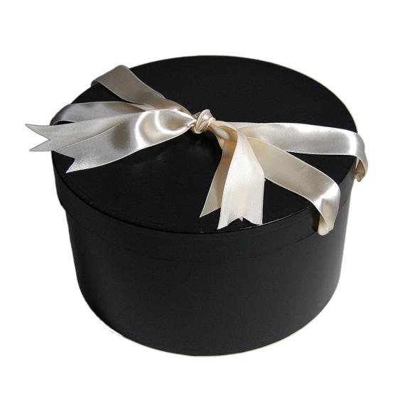 ハットケース(帽子丸箱) 42cm