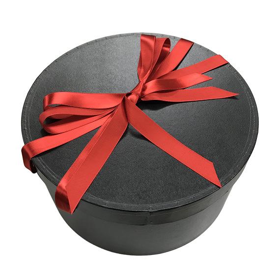 ハットケース(帽子丸箱) 36cm