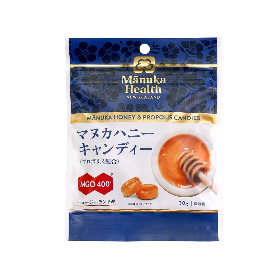 マヌカハニー はちみつ 蜂蜜 飴 キャンディ マヌカヘルス 30g 2個セット MGO400+ メール便 送料無料