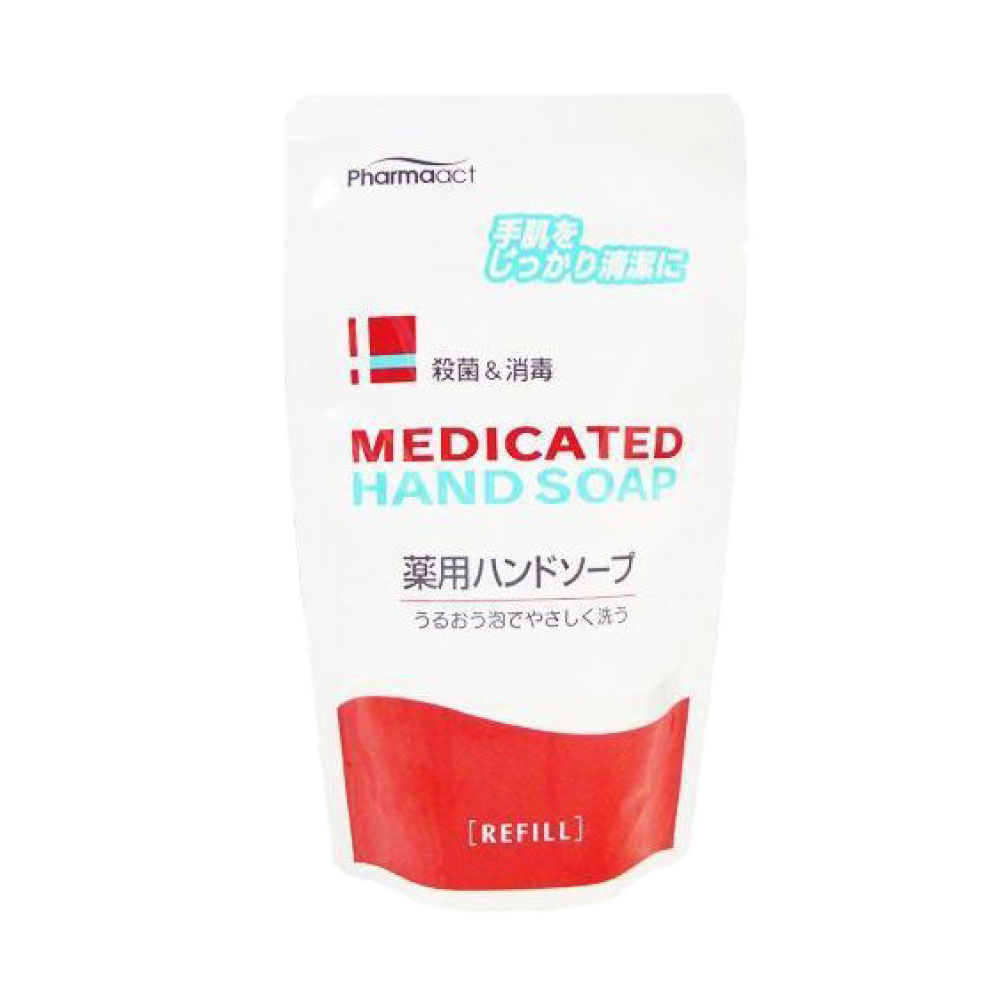 ハンドソープ Medicated 薬用 殺菌+消毒 200ml×20個セット つめかえ用 薬用ハンドソープ 手肌 アロエ 日本製 医薬部外品