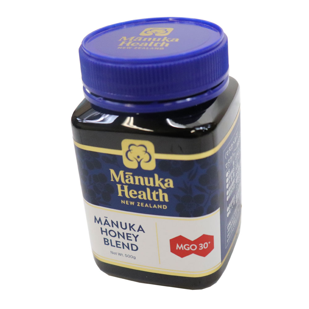 マヌカハニー はちみつ 蜂蜜 マヌカヘルス ブレンド MGO30 500g 3個セット 正規品 ニュージーランド産 送料無料