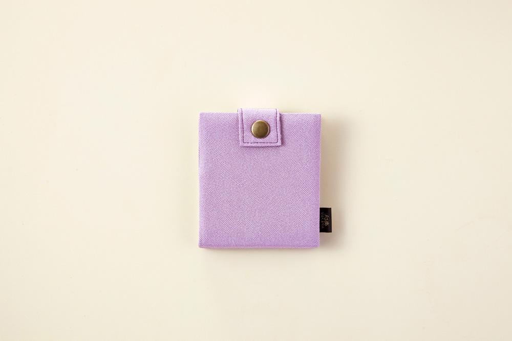 長浜の絹・カードケース(ふじ) 浜ちりめん  滋賀のお土産