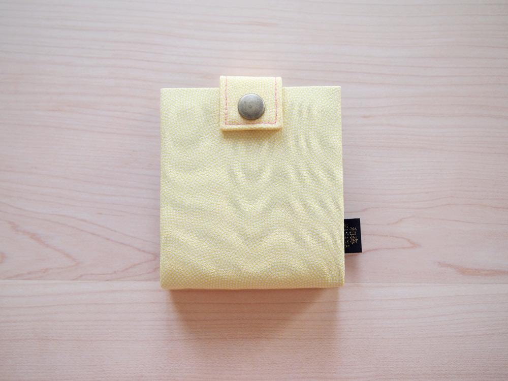 長浜の絹・カードケース(なのはな) 浜ちりめん 滋賀のお土産