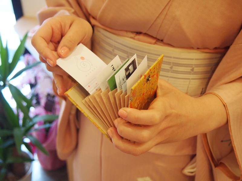 西陣織カードケース【鳳凰】 ギフト ラッピング無料