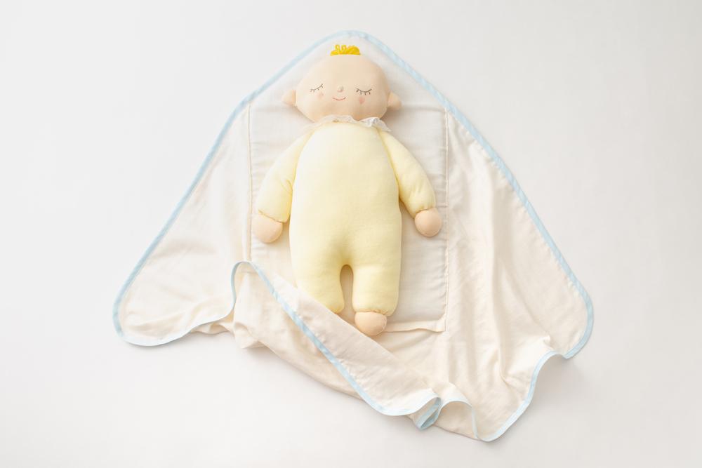 kokurumi 〜こくるみ〜 赤ちゃん おくるみ ママ プレゼント 贈り物に☆47都道府県の各代表の最高賞である「ふるさとギフト最高賞」を受賞
