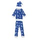 Kids L/Sleeve PJ&Cap Set【全3種類】